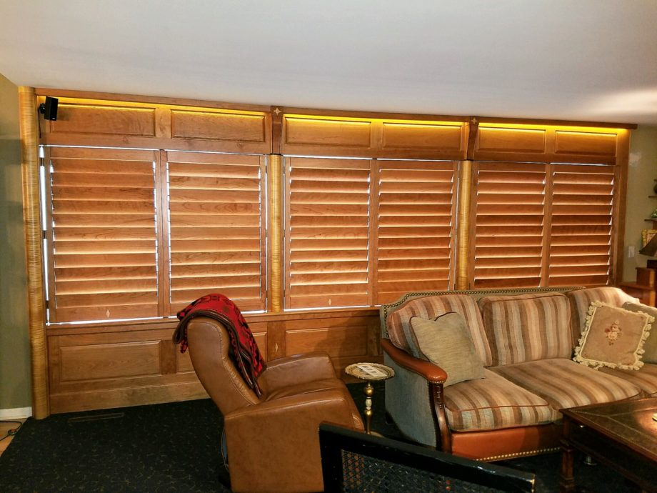 Cherry Shutters Show Off Custom Capability